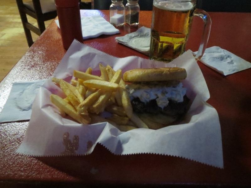 Olive burger!